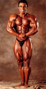Super Star of body building and GB Fitness trained Personal Trainer Charles Clairmonte.