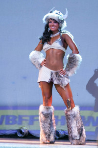Rhian bringing Welsh Viking beauty to Iceland for the WBFF European Championships.