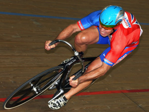 Multiple World Champion and world record holder in sprint cycling.